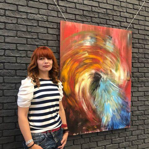 У Хабі Платформа відкрилась виставка живопису Ярослави Братусь
