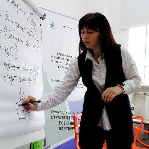 У Запоріжжі обговорили результати дослідження правових потреб мешканців і мешканок сільських громад